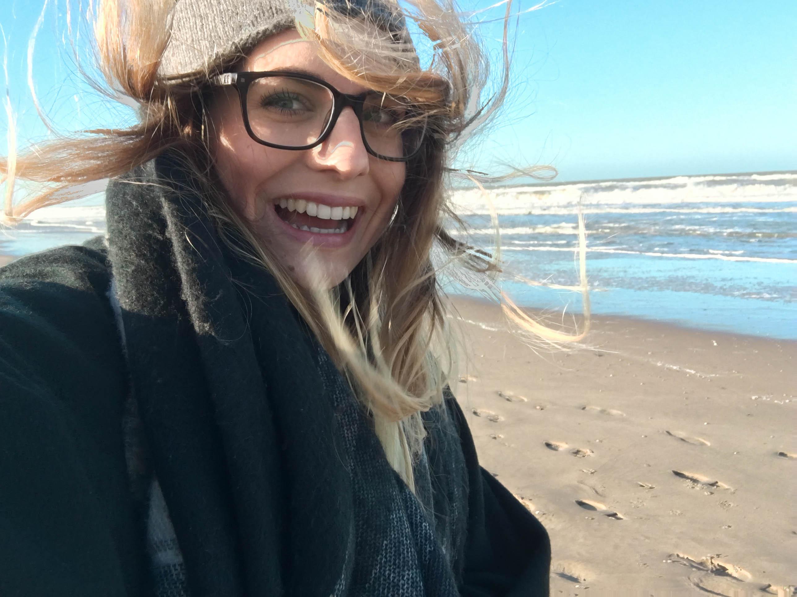 Wind und Meer bei meinem ersten Besuch im Dezember