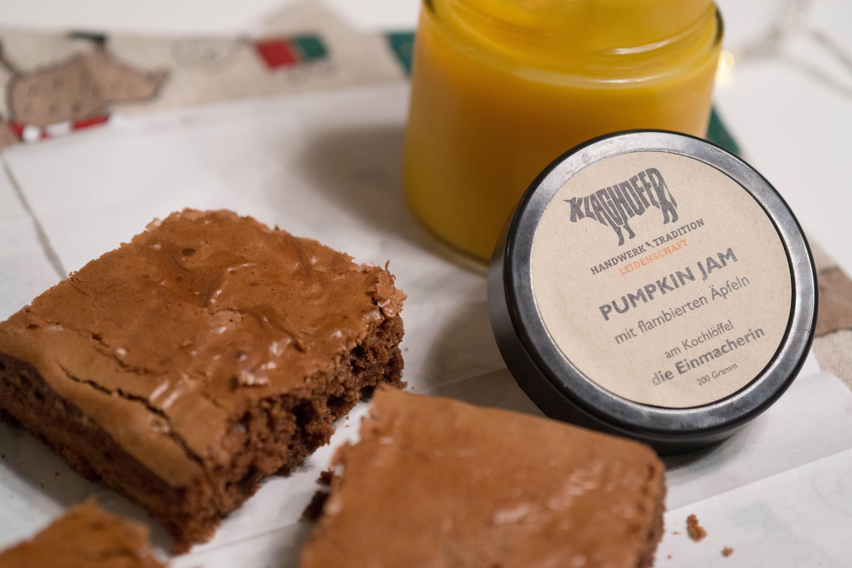 Lebkuchen brownie