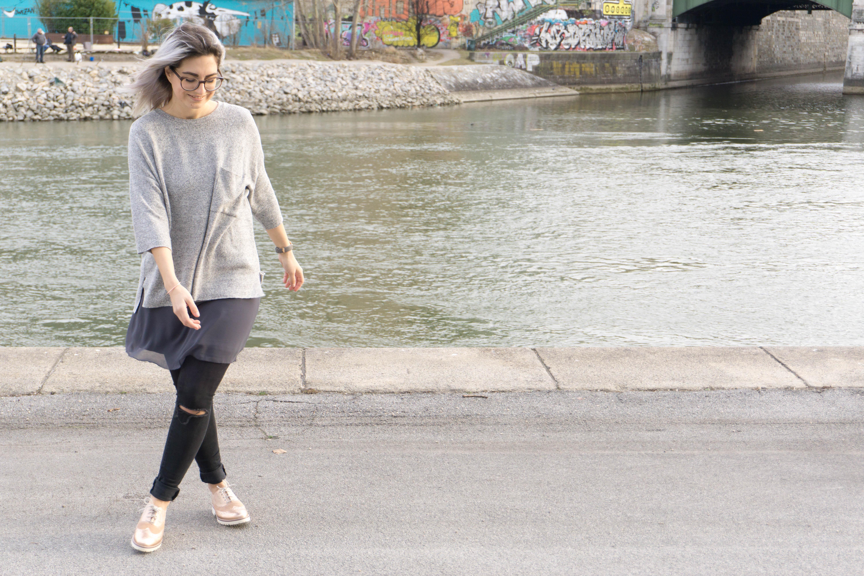 outfit kleider über jeans-6